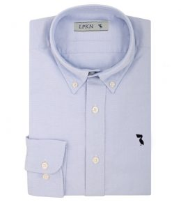 Camisa Oxford Blue