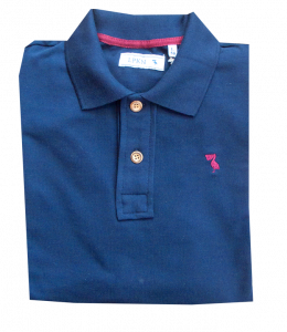 Polo Pelicano Navy Burgundy