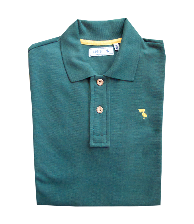 Polo Pelicano Green Yellow