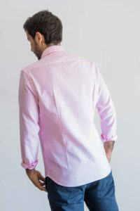 line pink navy tras